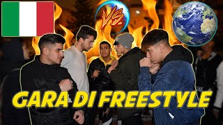Italiani VS Stranieri - Gara di DISSING freestyle!!