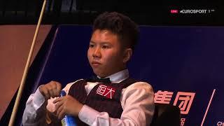 Mark Selby v Zhou Yuelong 周跃龙 Deciding Frame R2 China Championship 2017
