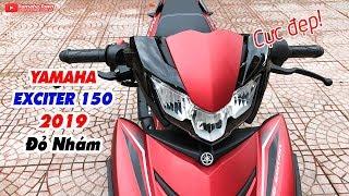Yamaha Exciter 150 2019 Đỏ Nhám ▶ Cận cảnh Siêu nhân Người Kiến ANT MAN đẹp nhất!