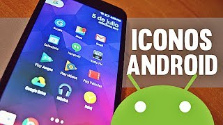TOP 7: PACKS DE ICONOS PARA ANDROID | Personalización