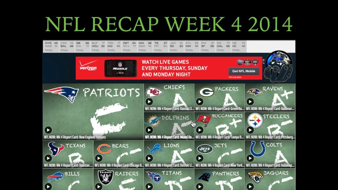 recap week 4