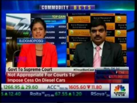 Watch Mr. Kishore Narne on CNBC for the show 'NSE Closing Bell'