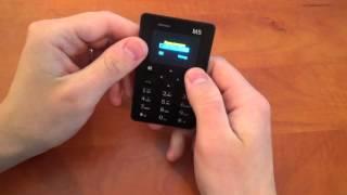 Самый маленький телефон в мире ! AEKU M5
