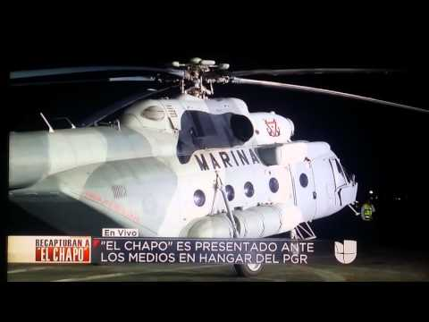 EL CHAPO JOAQUIN GUZMAN LOERA  CAPTURADO /DRUG KING PIN