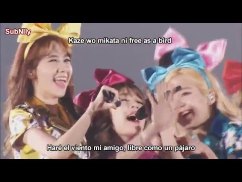 Girls' Generation (SNSD) - Flyers Live [Sub Español + Rom]