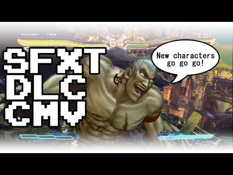 All DLC Character Combo Video! [SFxT]