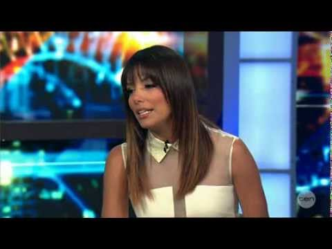 Eva Longoria LIVE after some Australian News & Paula Abdul March 18, 2014