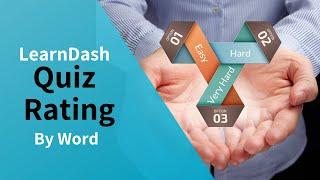 LearnDash Quiz Rating Plugin