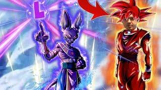 498% MAXED! Super Saiyan God Goku & Beerus vs The Super Saiyan Broly PvP Meta   Dragon Ball Legends