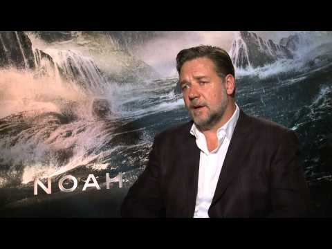 "Noah: Russell Crowe ""Noah"" Official Movie interview"