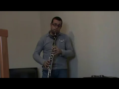 Carlos Lopez Audition YTSO 2011 Oboe English Horn
