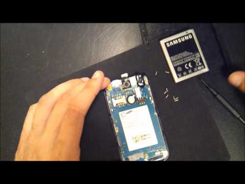 How to replace digitizer on tmobile samsung exhibit 2 II PART 3