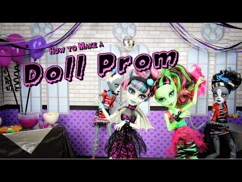 How to Make a Doll Prom