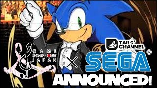 SEGA X Game Symphony Japan Announced! - Concert with Music from Sonic, NiGHTS, & More!