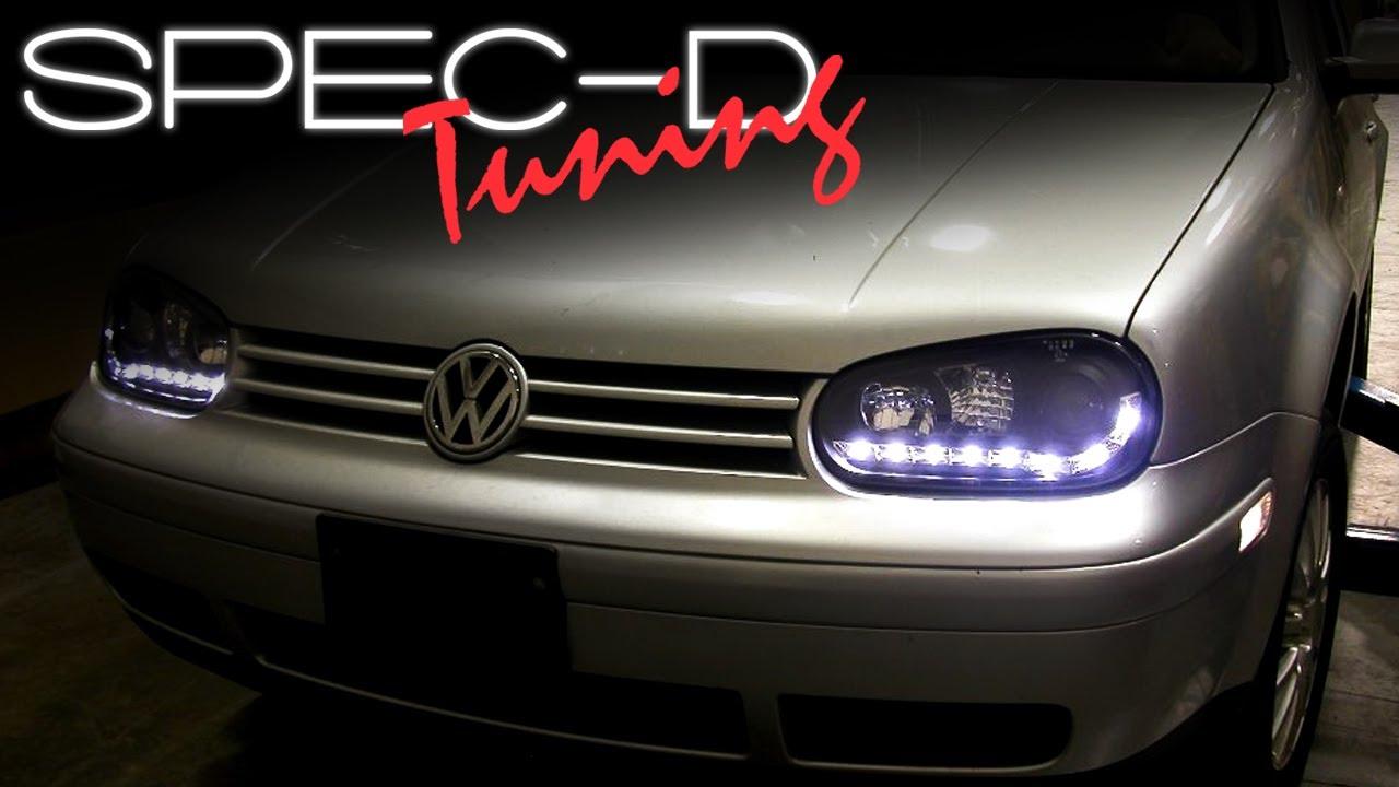 Specdtuning Installation Video Volkswagen Golf 99 05 R8