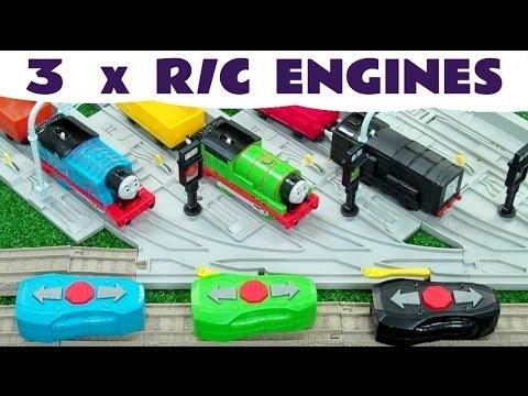 DIESEL PERCY & THOMAS R/C Thomas The Train Toy Trains Kids Toy Train Set Thomas The Tank Engine