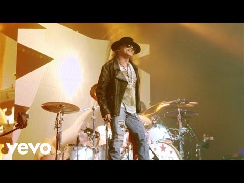 Guns N Roses - Welcome To The Jungle Live