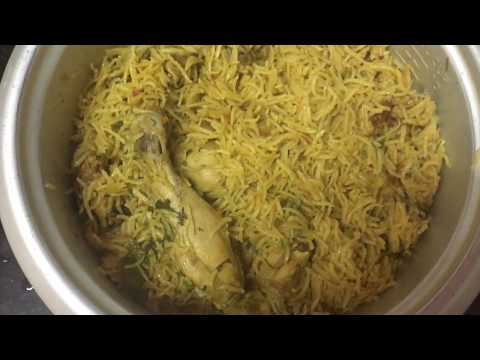#ChickenBiryani Simple and Tasty Chicken Biryani - Chicken Biryani in Pressure cooker ||