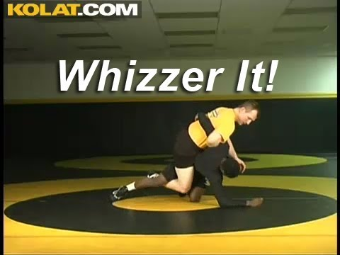 Whizzer Pull Up to Step Over KOLAT.COM Wrestling Moves Techniques Instruction Image 1
