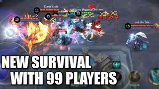 THE NEW 99 PLAYERS SURVIVAL MODE IS CRAZY!