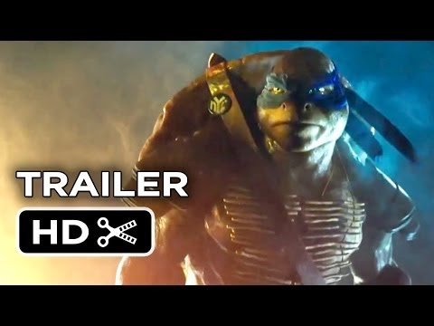 Teenage Mutant Ninja Turtles Official Trailer #1 (2014) - Megan Fox, Will Arnett Movie HD