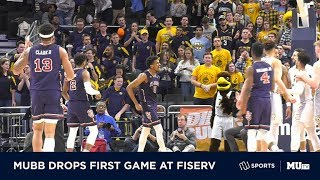 MUBB drops first game at Fiserv