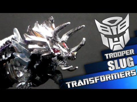 Transformers 4 AOE Age of Extinction SLUG Platinum en español - Trooper Reviews