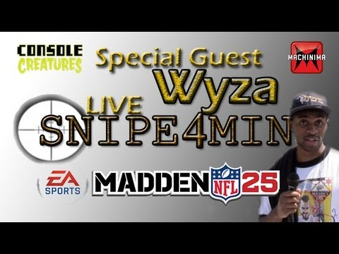 «Madden 25″ «Ultimate Team» SNIPE4MIN Special Guest Wyza Epic Pack Opening