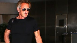 Sean Penn Returns From Disastrous Cannes Premiere