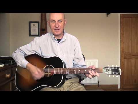 Any Dream Will Do Advanced Guitar Lesson