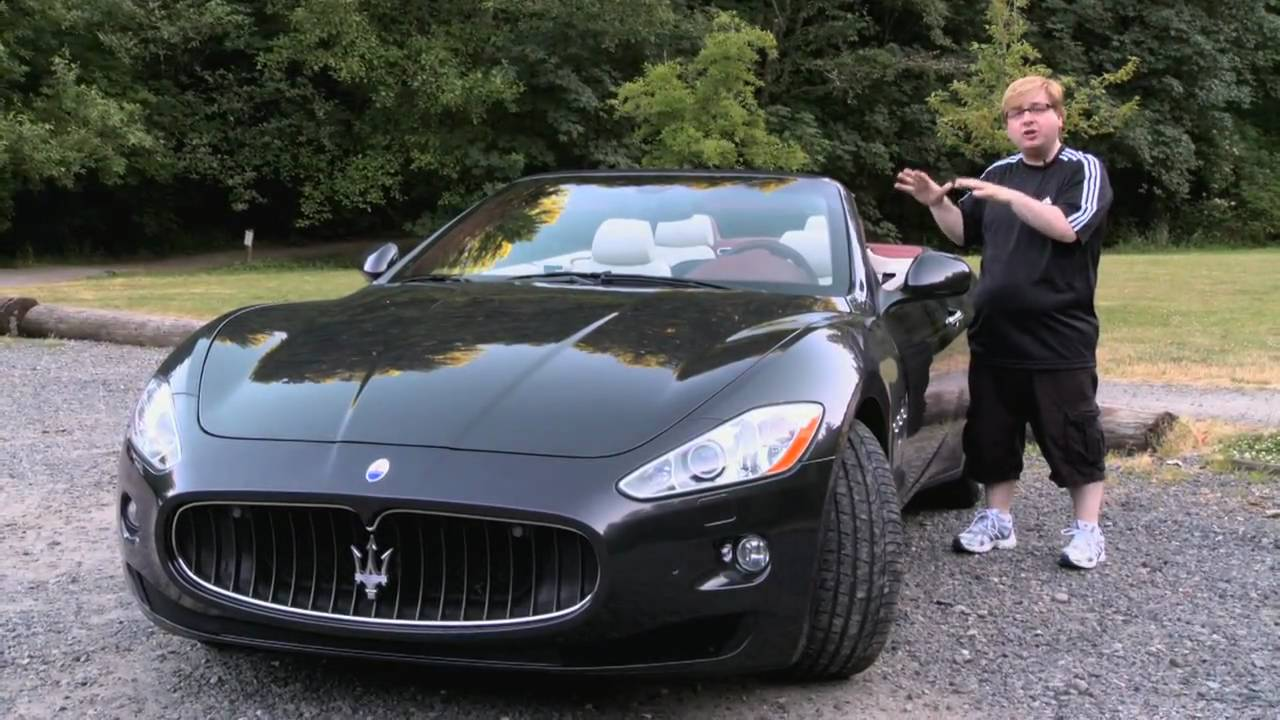 First test drive of the all new 2011 maserati granturismo