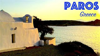 Paros Island (Cyclades, Greece)