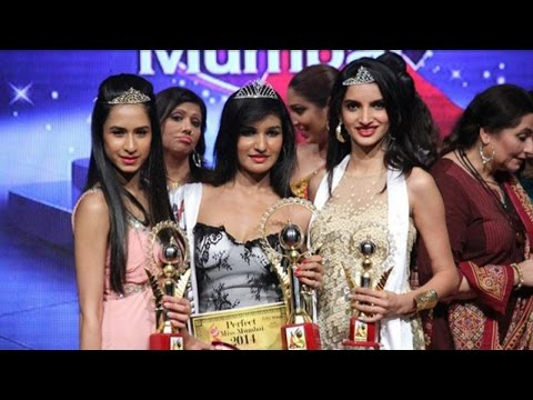 Models Posing at Miss India 2015 Sub Contest Crowning Ceremony