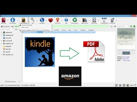 How to convert Kindle books to PDF [100% Free]
