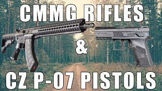 CMMG Rifles On Sale & Mexican Military Contract CZ P-07 Pistols