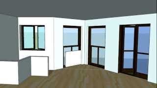 Sketchup Apartment Model Animation w/ Walkthrough