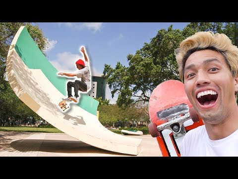 $2 MILLION DOLLAR ART SKATEPARK!!