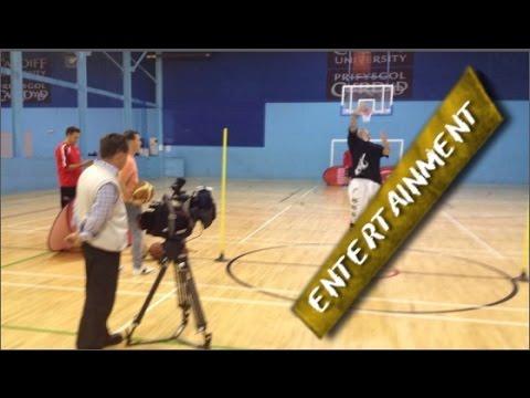 STREETBALLER BREAKS 14th BASKETBALL WORLD RECORD LIVE ON ITV NEWS TV | TOM