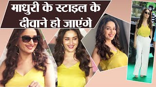 Total Dhamaal Trailer launch: Madhuri Dixit looks cute in million dollar smile & style | FilmiBeat