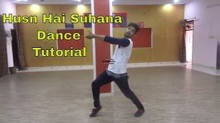 Lyrical Hip Hop Dance Tutorial in Bollywood Song Husn Hai Suhana by Lucky Bist