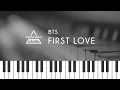 방탄소년단 슈가 BTS Suga First Love Piano Cover mp3