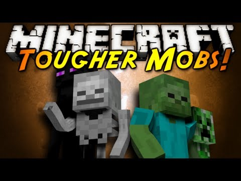 Minecraft Mod Showcase : TOUGHER MOBS!