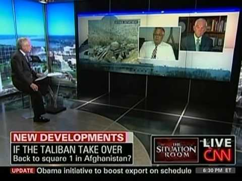 Ron Paul - The Situation Room, 7/7/10, Pt. 1
