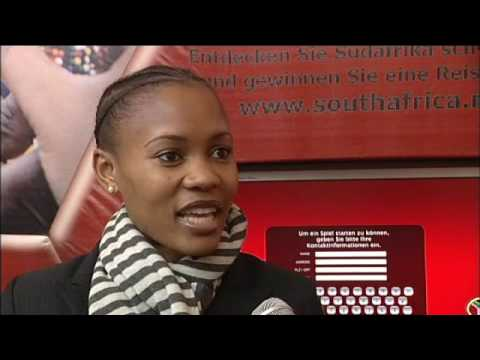 Boni Mchunu, Trade Marketing Manager, Tourism KwaZulu-Natal @ ITB Berlin 2008