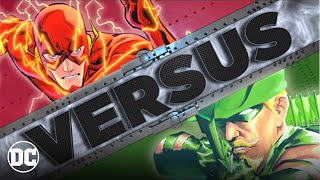THE FLASH vs GREEN ARROW