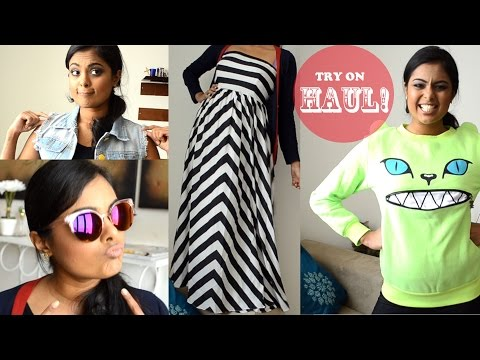 Massive TRY ON Haul & chitchat! Choies, sheinside, shopmissA, lookbookstore etc...