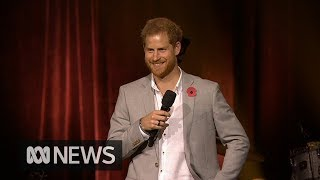 Prince Harry: Invictus family reminds us 'no challenge is too difficult to overcome' | ABC News