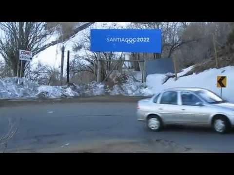 Campaña para los Juegos Olímpicos de Invierno Santiago 2022 en Farellones