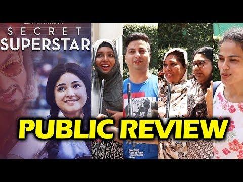 Secret Superstar PUBLIC REVIEW - First Day First Show - Aamir Khan, Zaira Wasim thumbnail