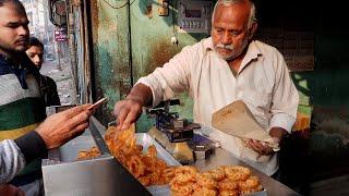 인도 꿀 빵 / india honey bread - jalebi / indian street food
